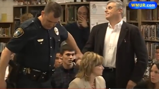 Man arrested for protesting Picoult book