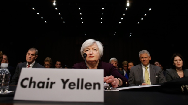 U.S. Federal Reserve Chair Janet Yellen in D.C.