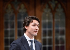 Justin Trudeau during question period