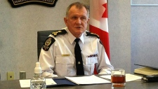 Edmonton police chief Rod Knecht