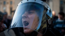 Pro-Russian activists in Ukraine