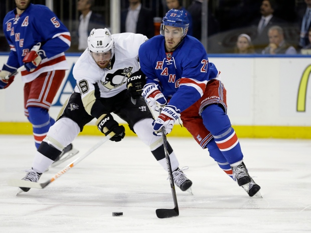 Rangers Penguins