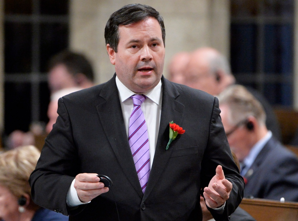 Employment Minister Jason Kenney responds during Question Period in the House of Commons on Parliament Hill in Ottawa, Wednesday May 7, 2014 . (Adrian Wyld / THE CANADIAN PRESS)