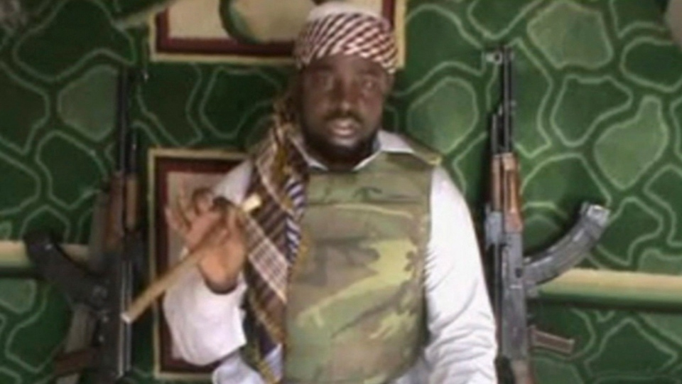 This image made available Wednesday, Jan. 10, 2012, taken from video posted by Boko Haram sympathizers, shows the leader of the radical Islamist sect Imam Abubakar Shekau. (AP)