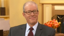Farmer and author of 'Folks, This Ain't Normal', Joel Salatin appears on Canada AM, Wednesday, Nov. 9, 2011.