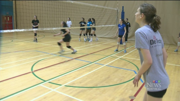 CTV Montreal:  Clair Kapusta: volleyball star