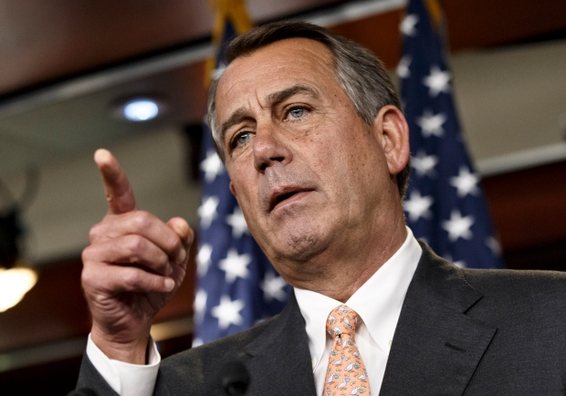 John Boehner at Capitol Hill news conference