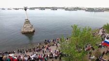 Victory Day in the Crimean port of Sevastopol