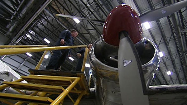 The Aviation and Space Museum is helping with the restoration of the North Star aircraft.