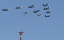 Russia Air Force ceremony