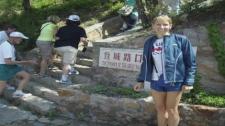 Lysanne Goyer will be running a marathon at Mount Everest.