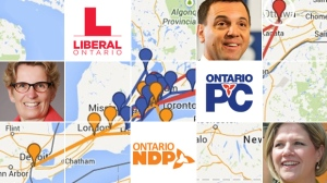 Ontario Election 2014: Tracking the Leaders (CTV News)
