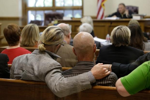 Spectators in Pulaski County Court House