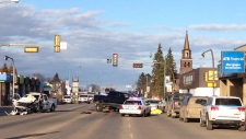 1 dead, 3 injured in Alberta shootout