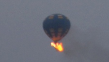 3 missing after hot-air balloon crash