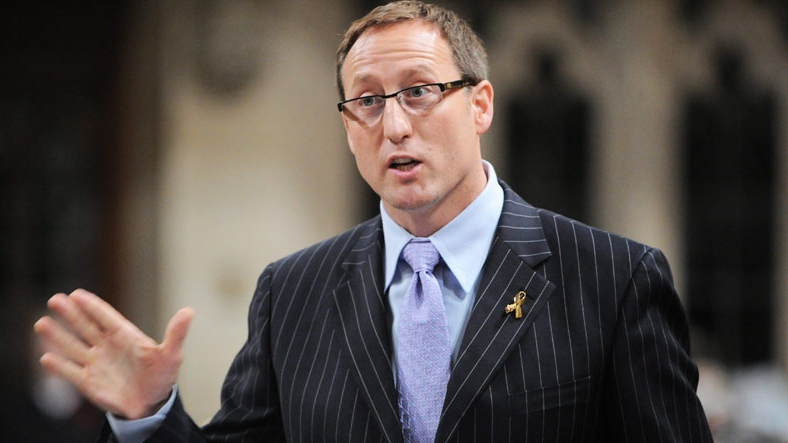 Defence Minister Peter MacKay speaks during question period in the House of Commons.