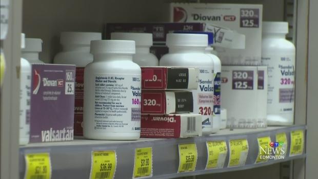 Pharmacy shelf