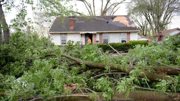 Tornado in Missouri
