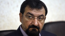 In this Sunday, May 24, 2009 file photo, Iranian presidential candidate Mohsen Rezaei attends a news conference in Tehran, Iran. (AP Photo/Hasan Sarbakhshian, File)