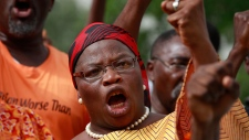 Rally for Nigerian school girls