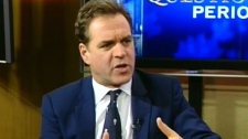 Niall Ferguson appears on CTV's Question Period on Sunday, Nov. 13, 2011.