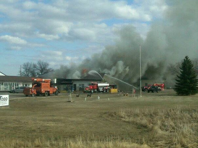 Canora fire