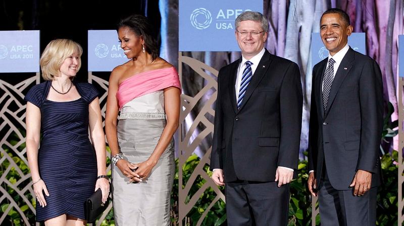 harper and obama