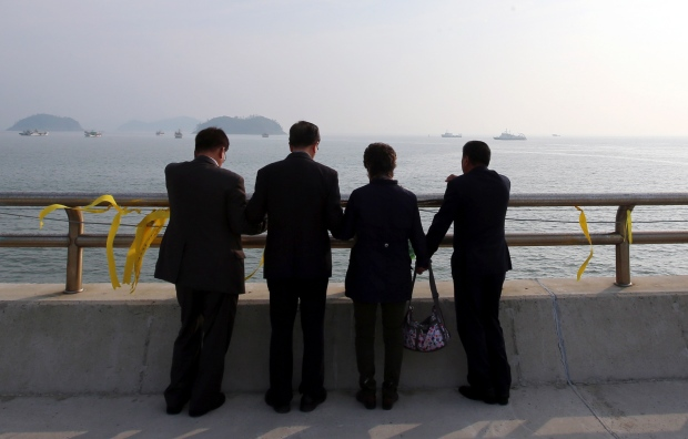 Christians pray for ferry passengers