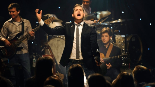 Buble mocks Kim Kardashian