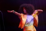 Solange Knowles performs at the Coachella Music Festival in Indio, Calif. on April 19, 2014. (Zach Cordner / Invision / AP)