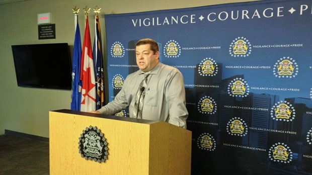 Calgary police update the media on a possible child abduction attempt.
