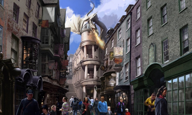 Harry Potter at the Universal Orlando Resort