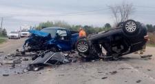 Fatal head on crash on Highway 148 near Luskville
