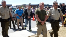 Accused in Lac-Megantic disaster arrive in court