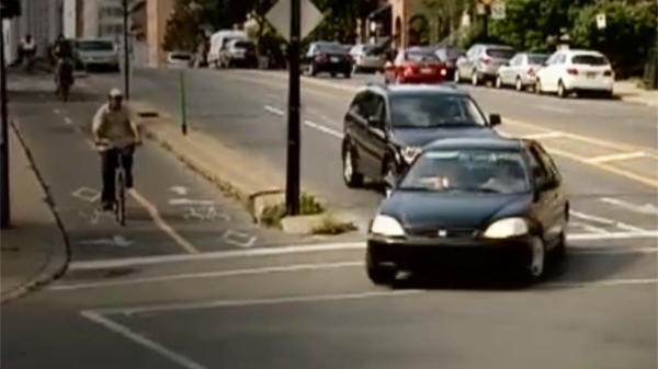 The city of Montreal has a list of dangerous intersections where collisions are common.