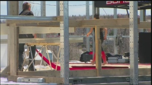 CTV News: Town rebuilding amid court appearance
