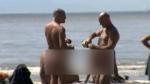 Beach erection nude Should erections