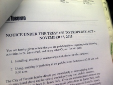 Occupy Toronto eviction
