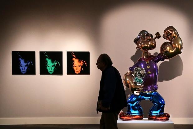 Andy Warhol's Six Self Portraits