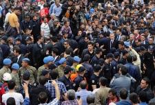 Search for survivors Turkey mine explosion