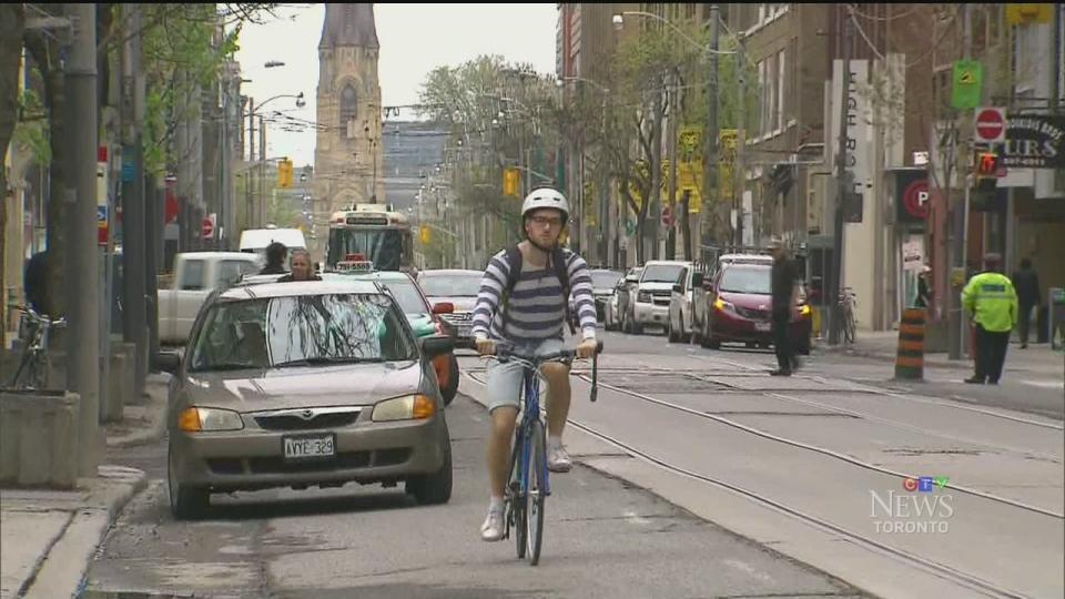 CTV Toronto: Toronto considers bike lanes