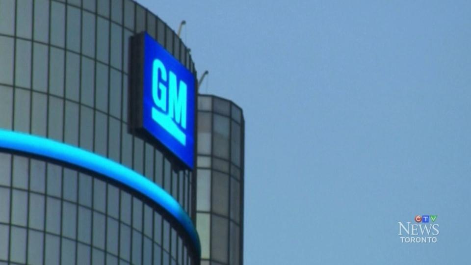 CTV Toronto: General Motors recalls 2.7M vehicles