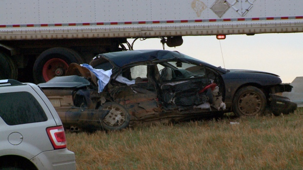 Two dead in Highway 16 crash near CUC | CTV News Saskatoon