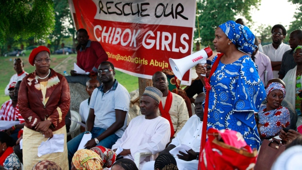 Abducted Nigerian school girls