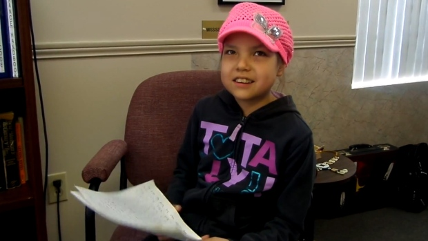 Makayla Sault in an image from video