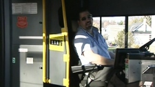 An unidentified OC Transpo bus driver explains why the No. 5 bus is consistently late.