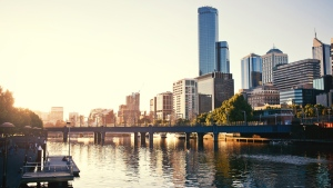 A view of the Yarra River in Melbourne, Australia. (Andrey Bayda/shutterstock.com)