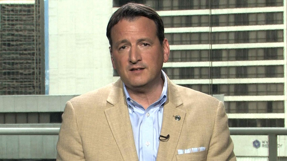 Natural Resources Minister Greg Rickford speaks to CTV's Question Period on Sunday, May 18, 2014.