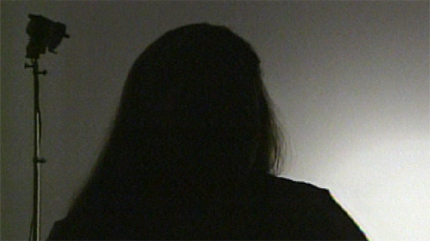 Silhouette of a victim