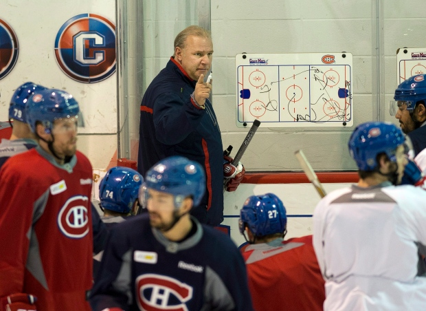 Montreal Canadiens coach Michel Therrien